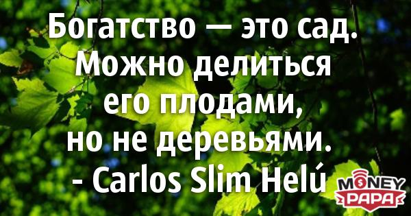 moneypapa.ru - carlos slim helu - bogatstvo eto sad mojno delitsya ego plodami...