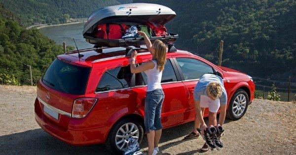 moneypapa.ru - Как уменьшить расходы на автомобиль - багажник с крыши