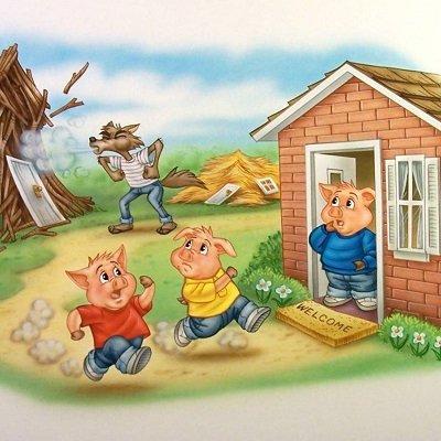 Финансовая мораль сказки о трёх поросятах